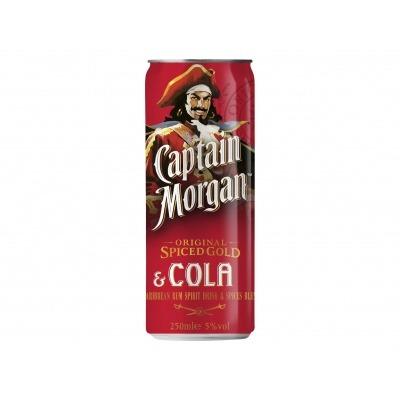 Captain Morgan Rum & cola