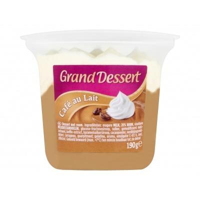 Ehrmann Grand dessert café au lait