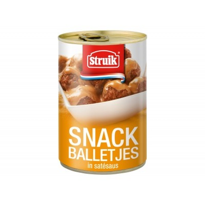 Struik Snackballetjes in satésaus