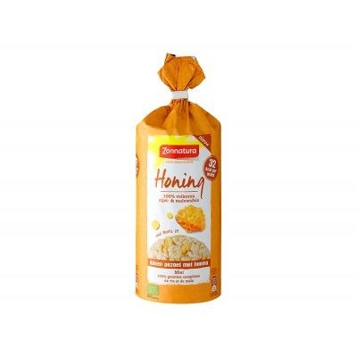 Zonnatura Rijst & maiswafels honing