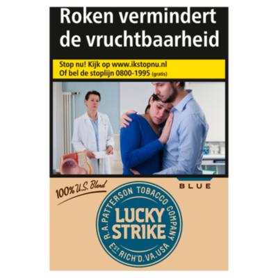 Lucky Strike Sigaretten additive free blue