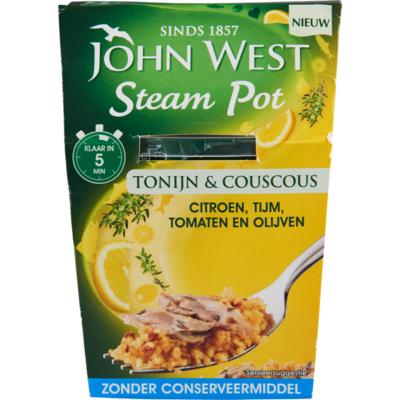John West Snackpot couscous citroen tijm