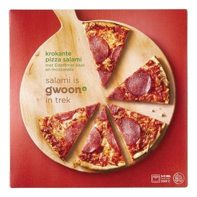 Huismerk pizza  salami