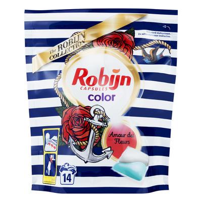 Robijn Wasmiddel capsules color amour des fleur
