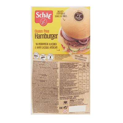 Schär hamburger broodjes 4 stuks