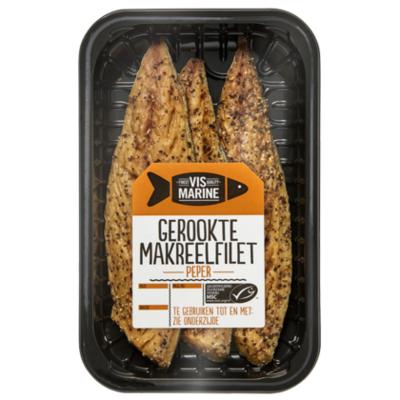 Vis Marine Gerookte makreelfilet peper MSC