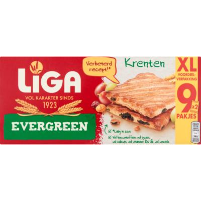 Liga Evergreen krenten XXL 9-pack
