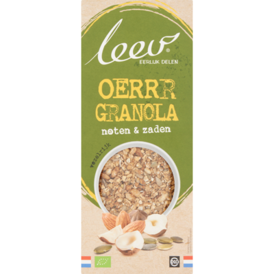 Leev Granola noten en zaden