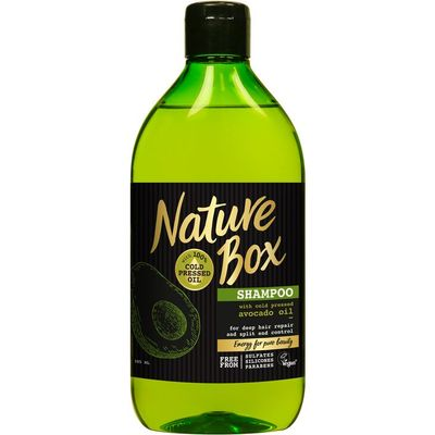 Nature Box Avocado repair shampoo