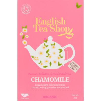 English Tea Shop Tea organic biologisch chamomile 20 zakjes