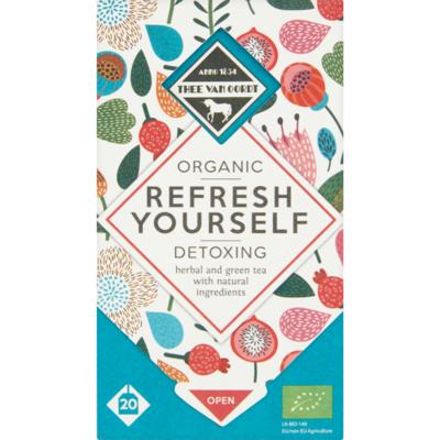 Thee van Oordt Organic Refresh Yourself Detoxing