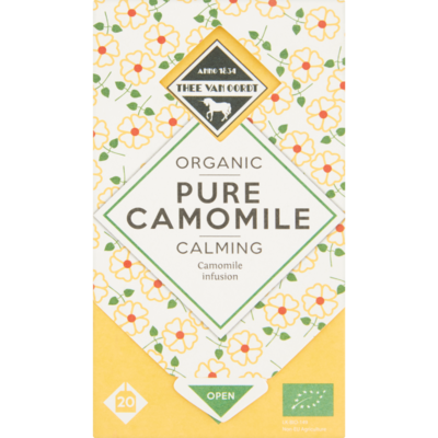 Thee Van Oordt Organic Pure Camomile Calming