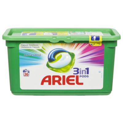 Ariel Pods color 36ct
