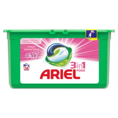 Ariel Pods fresh sensation 36st