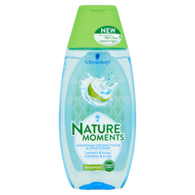 Schwarzkopf Nature Moments Coconut Water Shampoo 250 ml