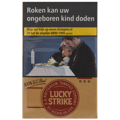 Lucky Strike US blend red