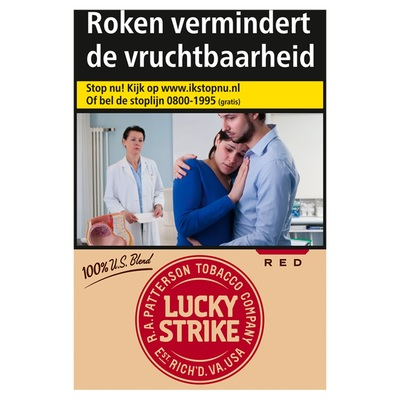 Lucky Strike 100% US Blend Red L 20