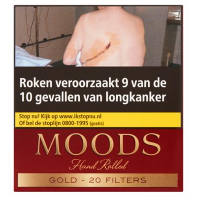 Ritmeester Sigaren moods golden taste