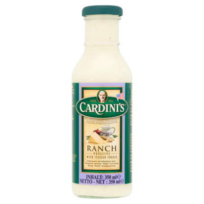 Cardini's Ranch Dressing met Italiaanse Kaas