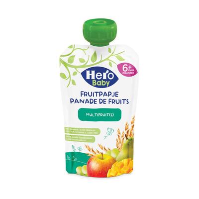 Hero Baby Baby fruitpapje granen-multifruit