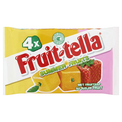 Fruittella Summerfruits 4-pack