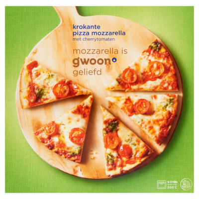 Huismerk Pizza Mozzarella 335 g