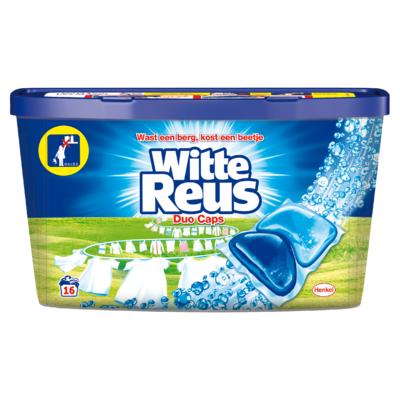 Witte Reus Duo Caps 16 Wasbeurten
