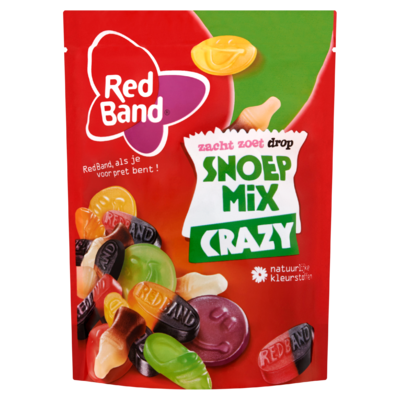 Red Band Snoepmix Original Zacht Zoet Drop