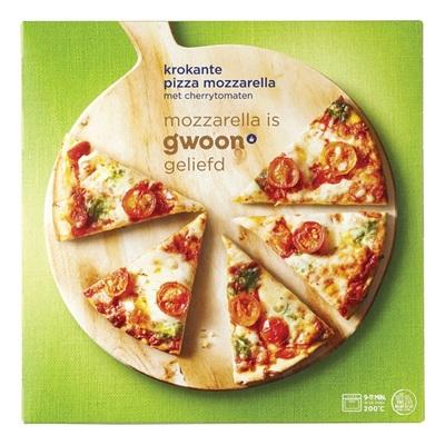 Gwoon krokante pizza mozzarella