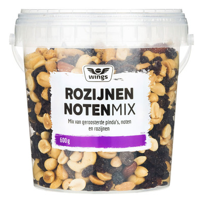 Wings Noten rozijn mix