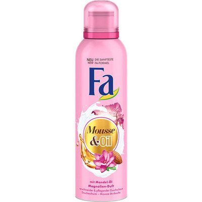 Fa Showerfoam amandelolie & magnolia