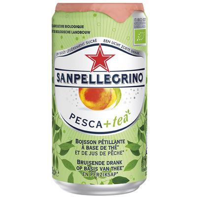 San Pellegrino Pesca & tea