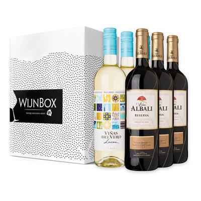 De lekker lang tafelen wijnbox