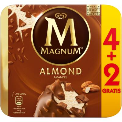 Ola Magnum almond 4 + 2 gratis