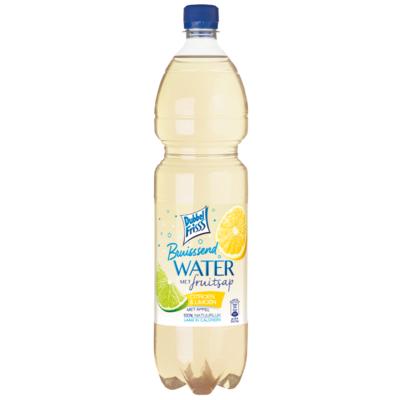 Dubbelfrisss Bruisend water met fruitsap citroen-limoen