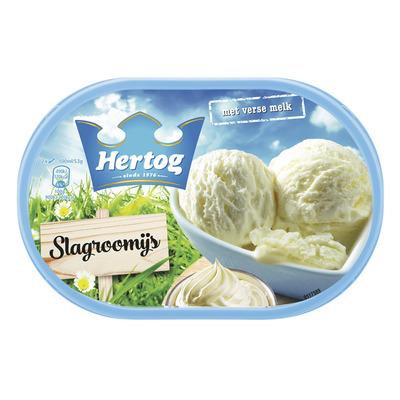 Hertog Classic ijs slagroom