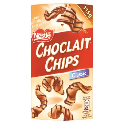 Nestle NESTLÉ CHOCLAIT CHIPS Classic 115 g