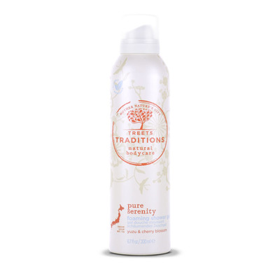 Treets Traditions pure serenity foaming gel