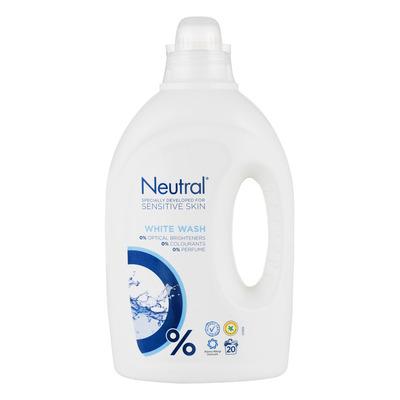 Neutral Vloeibaar wasmiddel wit parfumvrij