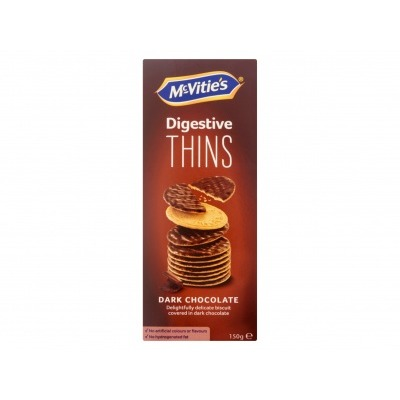 McVitie's Digestive thins dark