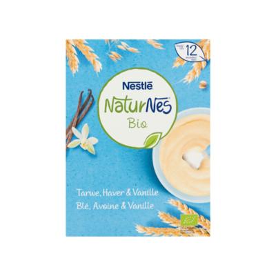 Nestlé Bio Tarwe, Haver & Vanille Vanaf 12 Maanden