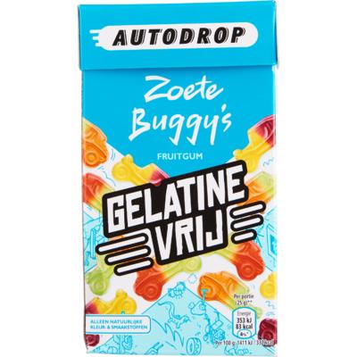 Autodrop Zoete buggy's gelatine vrij