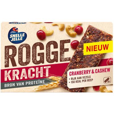 Snelle Jelle Roggekracht cranberry & cashew