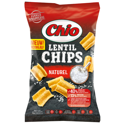 Chio Lentil chips naturel