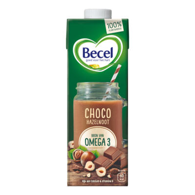 Becel 100% Plantaardige Choco-Hazelnootdrink