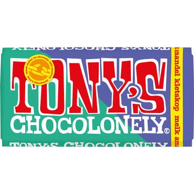 Tony's Chocolonely Melk amandel kletskop