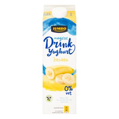 Huismerk Magere Drinkyoghurt Banaan
