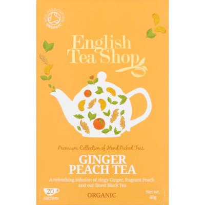English Tea Shop Tea ginger peach