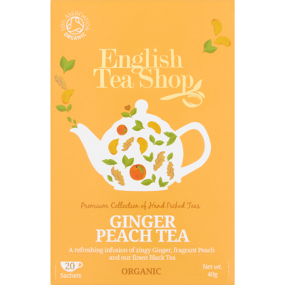 English Tea Shop Tea ginger peach