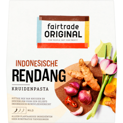 Fair Trade Original Kruidenpasta Indonesische rend